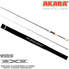Cпиннинг Akara  TROUT  Sport   с разнесенной ручкой  1.98 м (0,5-4,5)
