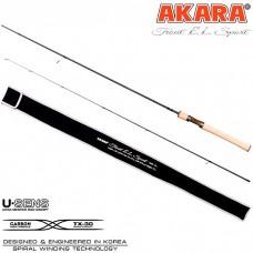 Cпиннинг Akara  TROUT  Sport   с цельной ручкой  1.98 м (0,5-4,5)