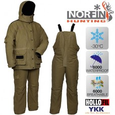 Костюм зимний для охоты Norfin Hunting WILD GREEN (-30 С)