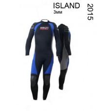 Гидрокостюм Sublife Island Mono 3мм