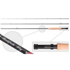 Удилище для нахлыста углепластиковое Surf Master Red Fish Fly 3091-4/6-274  2.74 м