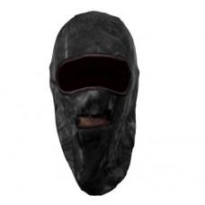 Шапка-маска TR 0918-19 флисовая 2 отверстия + сетка чёрн. XL