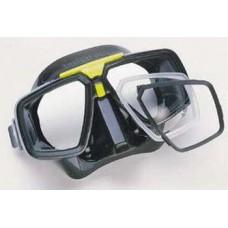 Двухстекольная маска  для подводного плавания TECHNISUB LOOK (черная)