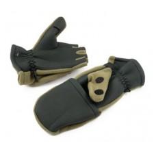 Рукавицы-перчатки неопреновые с флисом TR 0913-14 с обрезанными пальцами